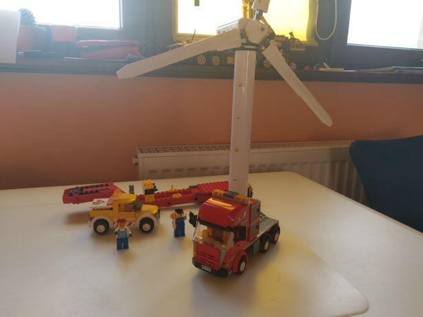 Lego City 7747 Transport Turbiny Wiatrowej UNIKAT