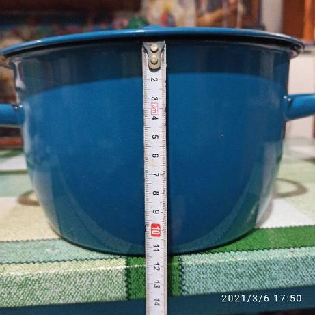 Продам эмалированные кастрюли 4,5 л