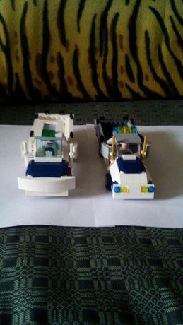 Машинки з орегинального лего.