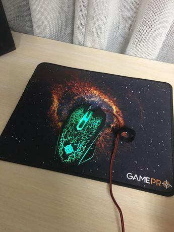 Игровая мышка + коврик