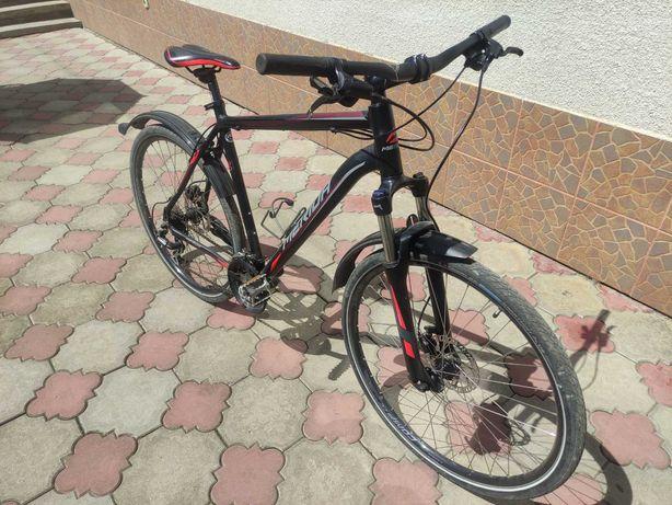 Велосипед MERIDA, 24 передачі, всі деталі Shimano, колеса 27.5 дюйма