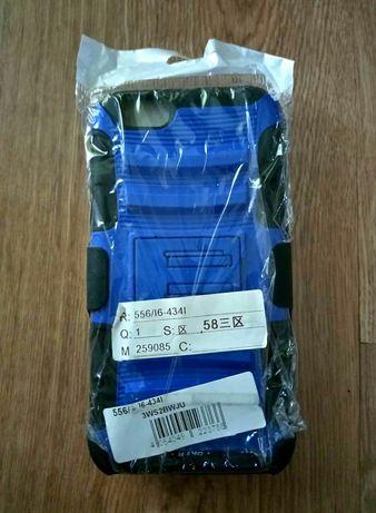 NOWE Etui Apple IPhone 6/6s niebieski pokrowiec na telefon zaczep