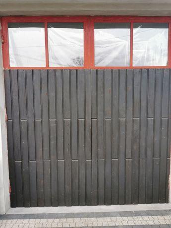 Drzwi bramy garażowe 2 szt