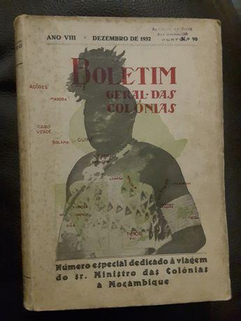 Boletim das Colónias: Moçambique (1932)