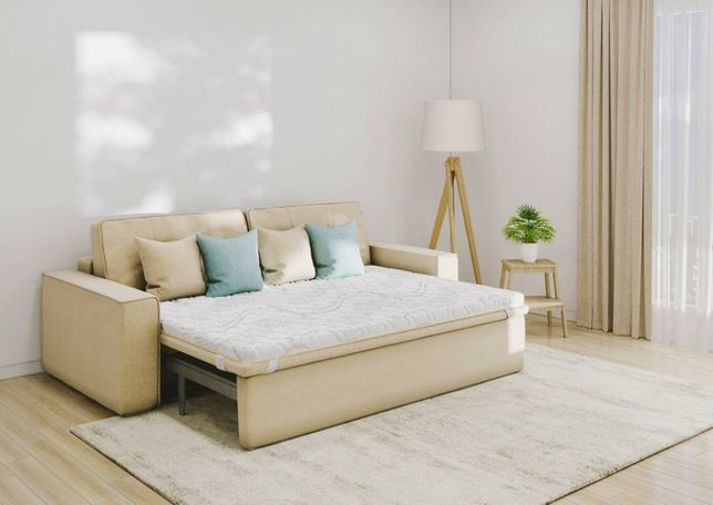 Тонкий матрац на диван або ліжко, топпер, футон. Гарантія. Доставка