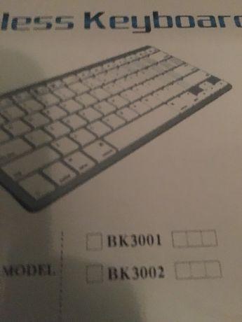 Безпровідна bluetooth клавіатура no BK3001