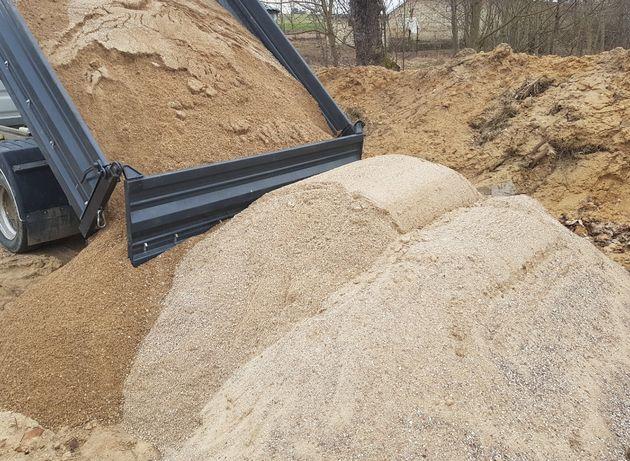 pulpa żwir do betonu pospółka materiały sypkie