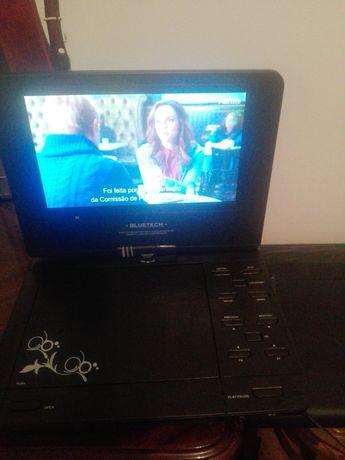 Leitor de DVD com TV