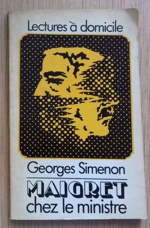 Simenon Georges : Maigret chez le ministre