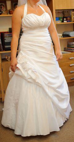 Suknia ślubna rozmiar 44 z welonem