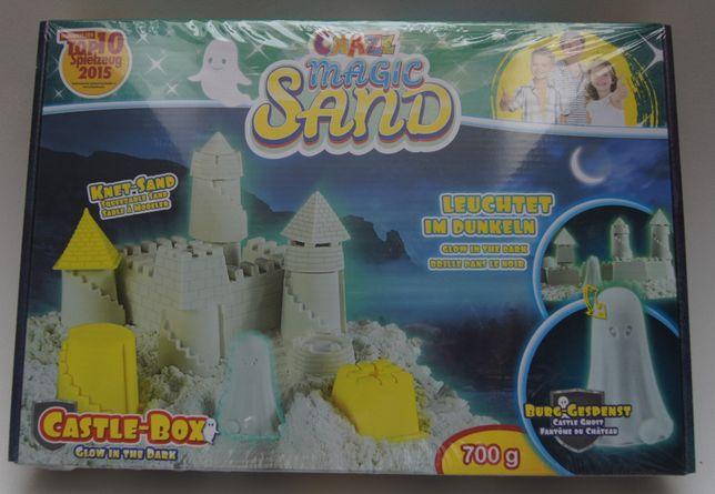 Magic Sand - piasek kinetyczny, zamek, świeci w ciemności