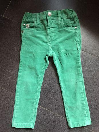 Вельветовые брюки на 1/5-2года