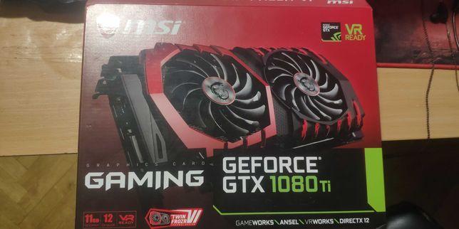 Відеокарта MSI GeForce GTX 1080 TI GAMING X 11G