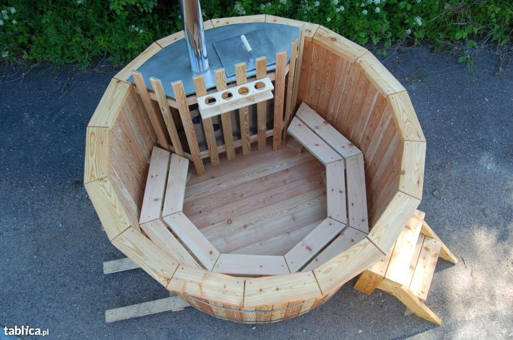 Gorąca Beczka Kąpielowa Bania Ruska Balia Sauna Ogrodowa Hot Tuba Puńsk - image 1