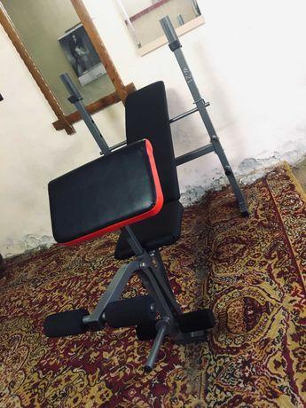 Ławka siłownia regulowana składana ławeczka do ćwiczeń modlitewnik