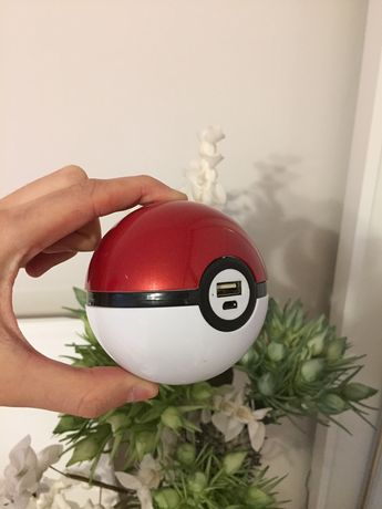 Power Bank, Pokemon Go, Pokeball - (kolekcja, kolekcjonerskie)