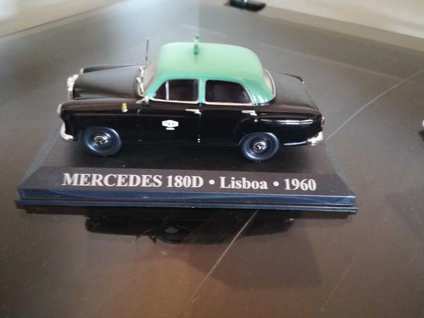 Lote com Mercedes 180D Lisboa 1960
