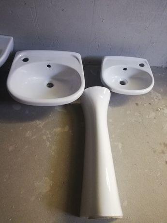 Umywalki plus postument