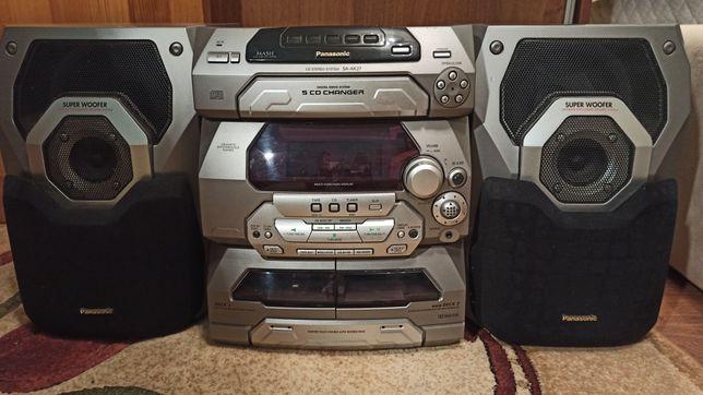 Музыкальный центр PanasonicSC-AK27 - Мини-система Panasonic с CD-чейнд