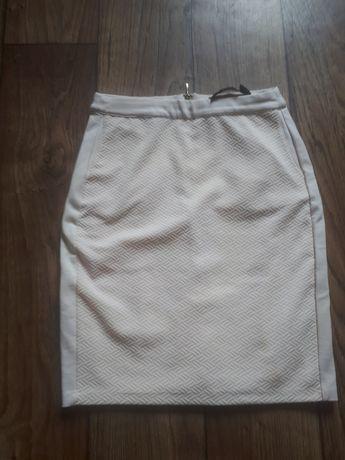 Brzoskwiniowa pudrowa spódniczka reserved