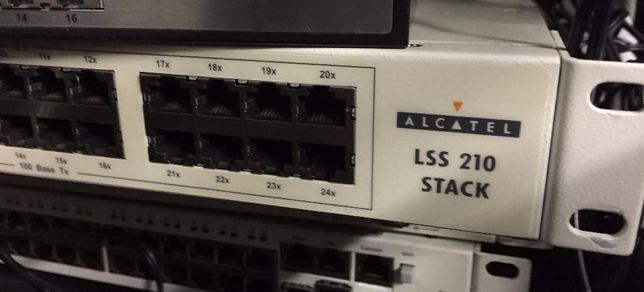 Switch Alcatel LSS 210 Stack 24 Portas