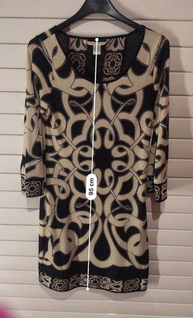 Jedwabna sukienka Diane von Furstenberg