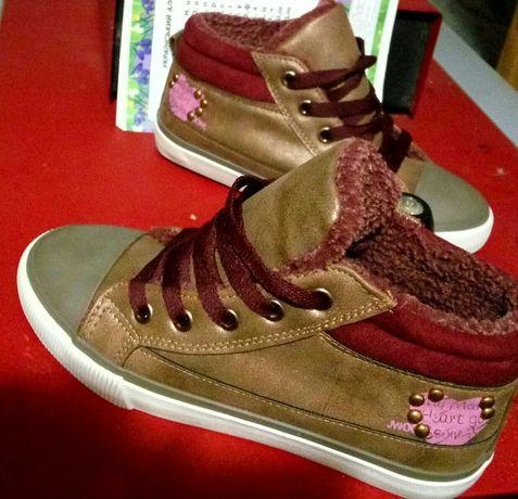 Новые теплые кросовки
