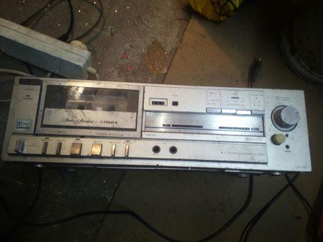 Magnetofon kasetowy. Fischer Cr-115.