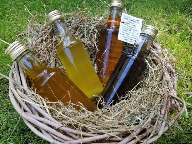 Domowe oleje:Rzepakowy,Lniany,Konopny,z Czarnuszki, z Ostropestu