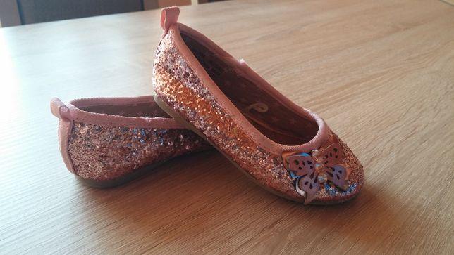jak nowe baleriny baletki pantofelki dla dziewczynki 20