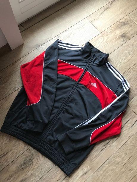 Bluza Adidas 3 stripes zip haft rozm. L