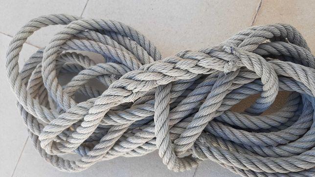 Cordas usadas em bom estado