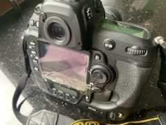 nieużywane Nikon D3 FX body, 6 obiektywów, 4 lampy błysk., studio foto