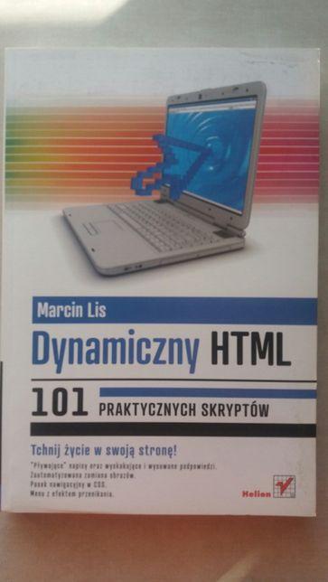 Dynamiczny HTML 101 praktycznych skryptów - Marcin Lis - Helion
