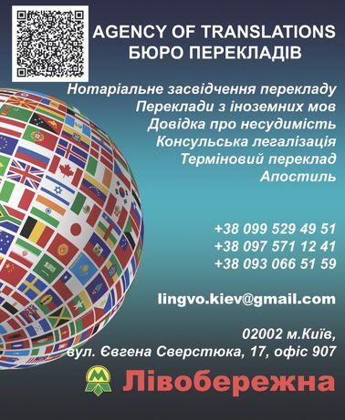 Легалізація документів/ Легализация документов