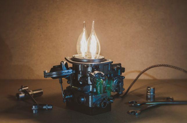 Настольный лофт светильник, карбюратор, настольная лампа, LOFT