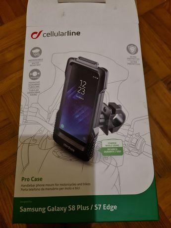 Suporte telemóvel para mota