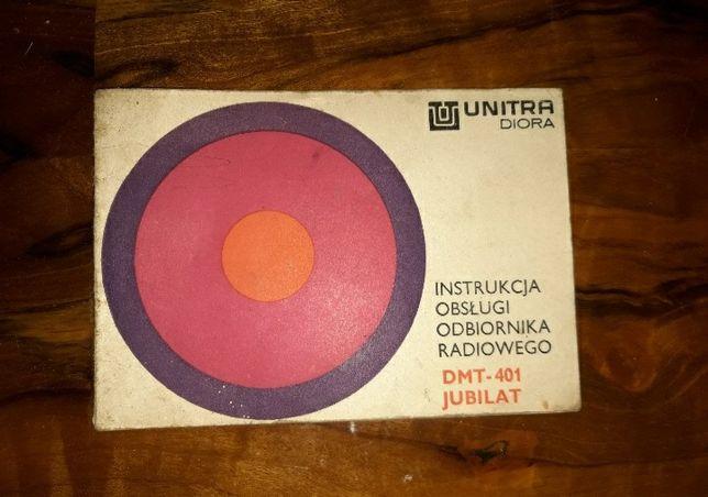 Instrukcja obsługi radia PRL