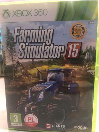 Farming Simulator 15 Symulator Farmy 2015 Xbox 360 po polsku