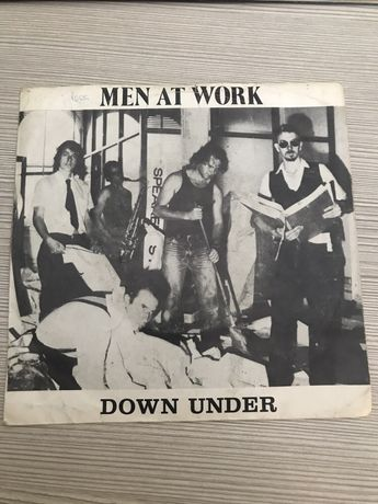 Men at work vinil