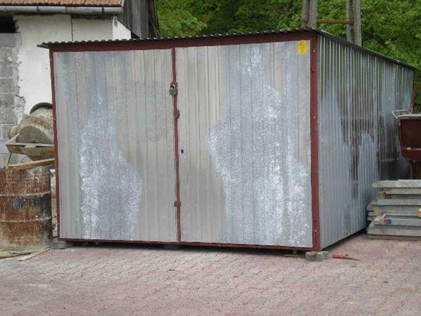 PROMOCJA !!! schowek na budowę 3x5 III gatunek blachy garaże blaszane