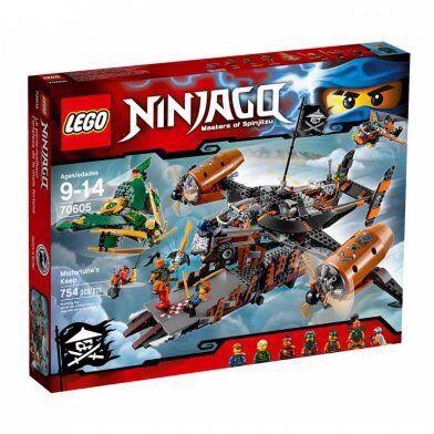 Блочный конструктор LEGO Ninjago Цитадель несчастий (70605)