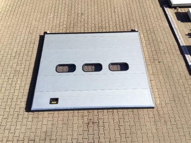 Brama panelowa segmentowa garażowa przemysłowa 345 x 295