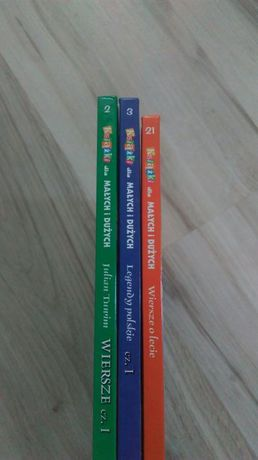 Książki dla małych i dużych, nr 2,3,21