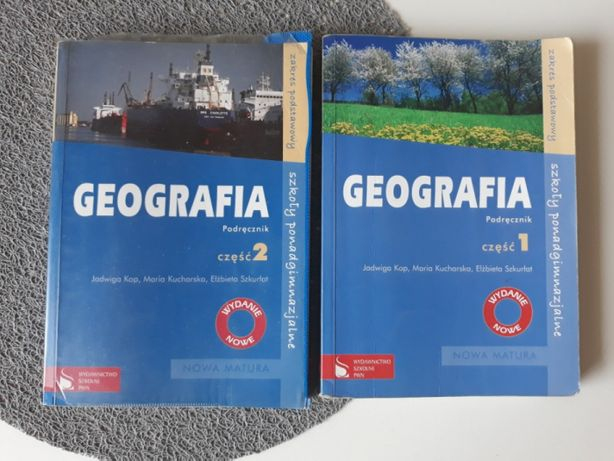 Geografia 1 i 2 wyd. PWN