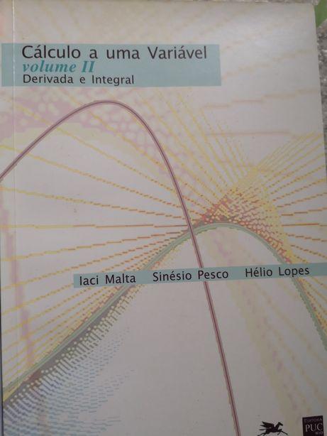 Livro: Cálculo a uma variável vol II