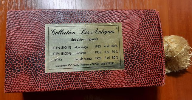 "Набор винтаж духи Collection ""Les Antiques"", 1928 - 1938 год, Франция"