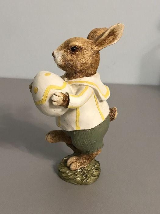 Статуэтка фигурка сувенир пасхальный кролик зайчик заяц Диканька - изображение 1