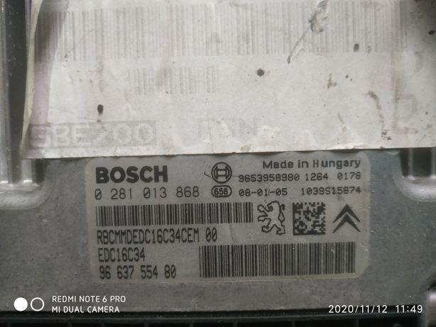 Komputer, sterownik silnika BOSCH do Peugeot 207, Citroen C2,C3,C4 1.6