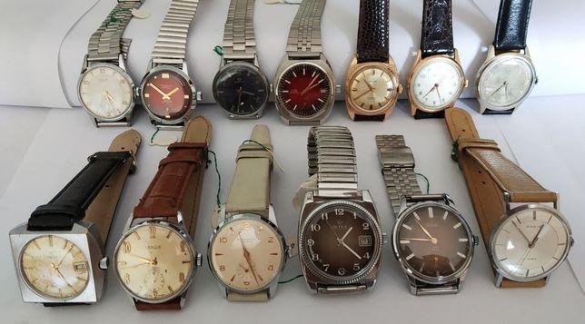 Relógios antigos a trabalhar*Enicar*New Ardath*Lancia*Orcyl*Yema*Regis